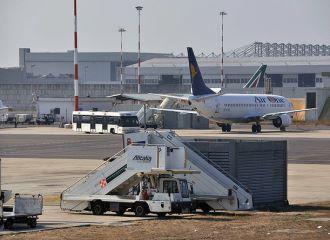 Location de voiture l'aéroport de Rome Fiumicino