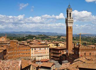 Biludlejning Siena